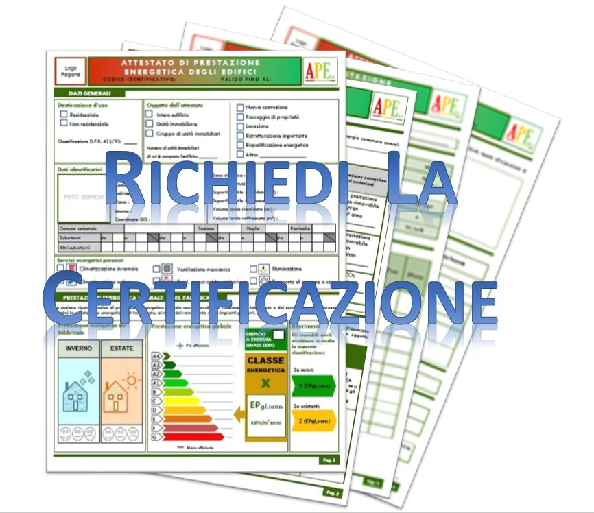 Quando richiedere la certificazione energetica certificazione energetica casa - Immobile non soggetto all obbligo di certificazione energetica ...